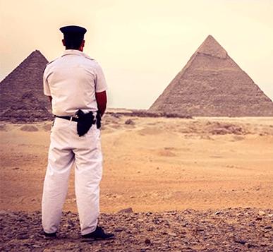 Seguridad Egipto