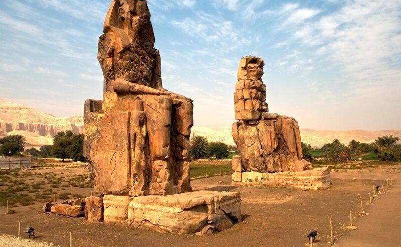 Colosos de Memnon, Egipto