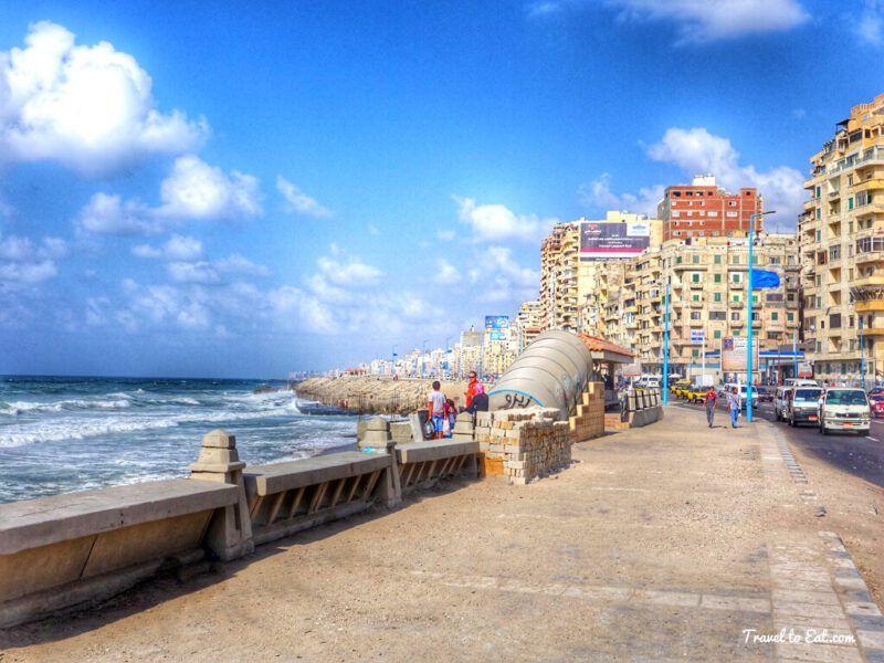 Corniche, Egipto