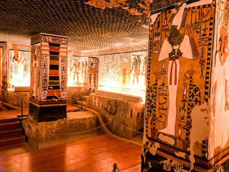 Tomb of Queen Nefertari, Egipto