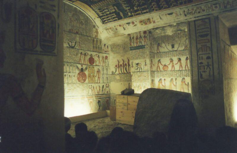 Tomb of Ramses VI, Egipto
