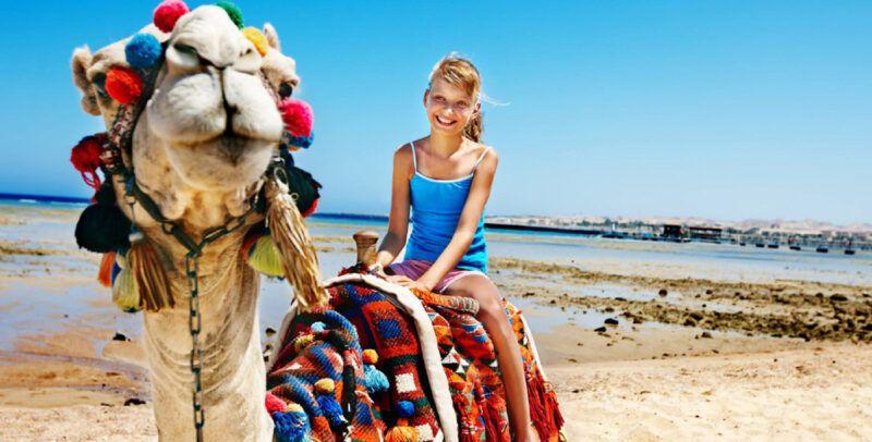 Viajar a Egipto con niños
