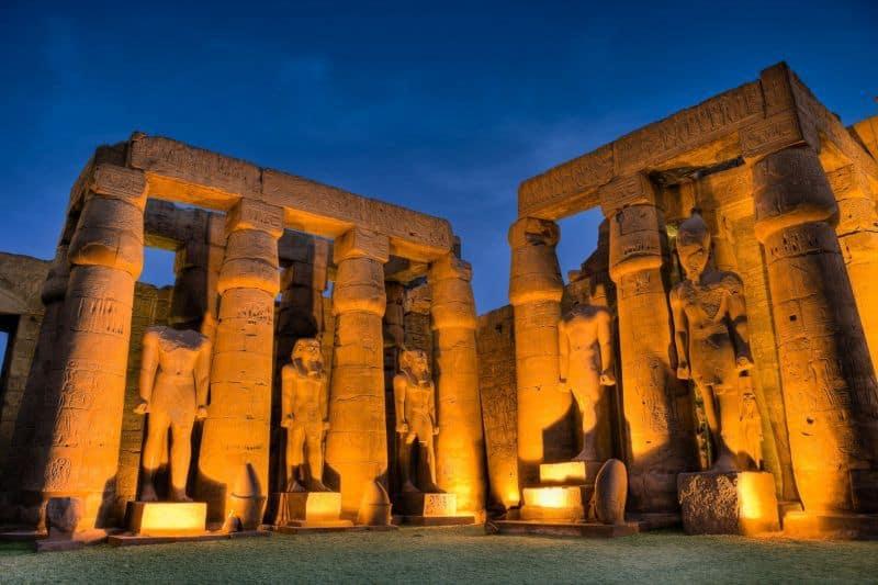 Actividades en Egipto