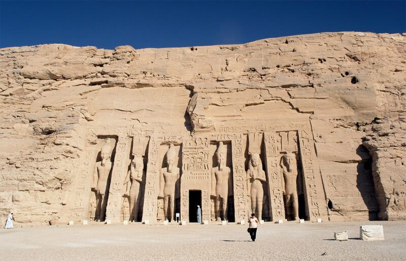 Templo de Hathor en Abu Simbel