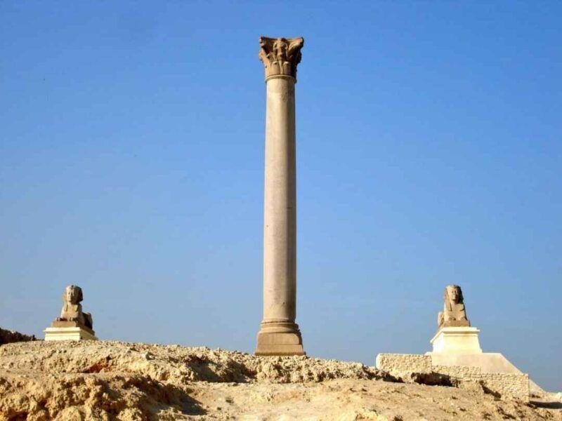 El pilar de Pompeyo