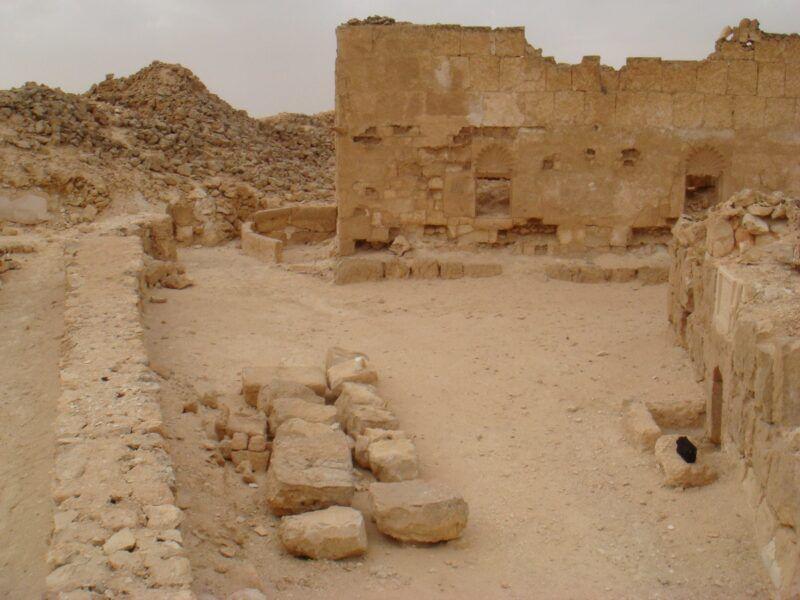 Las ruinas de El-Kilani