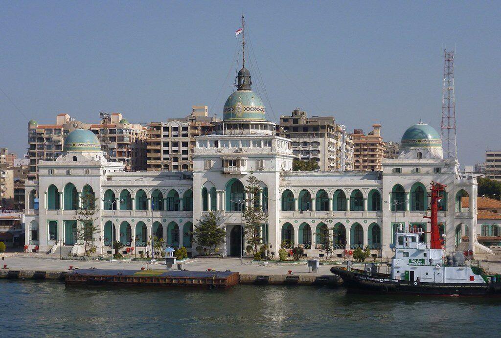 Edificio de la Autoridad del Canal Suez