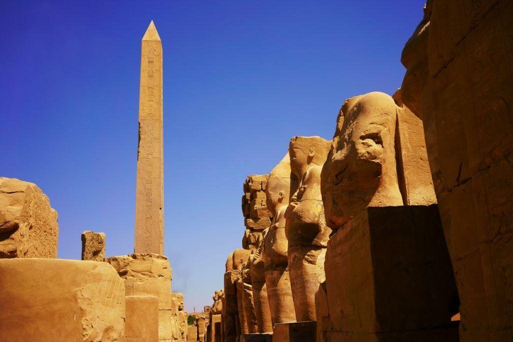 El obelisco de Hatshepsut