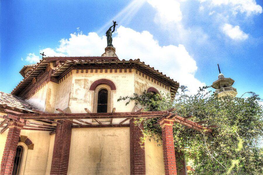 La Iglesia de la Virgen María en Ismailia, Egipto