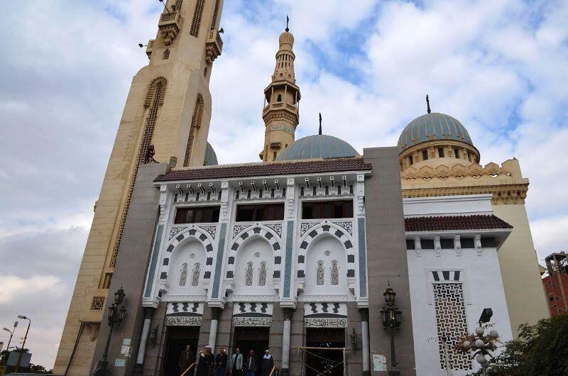 Mezquita de Abbas Helmi en Ismailia, Egipto