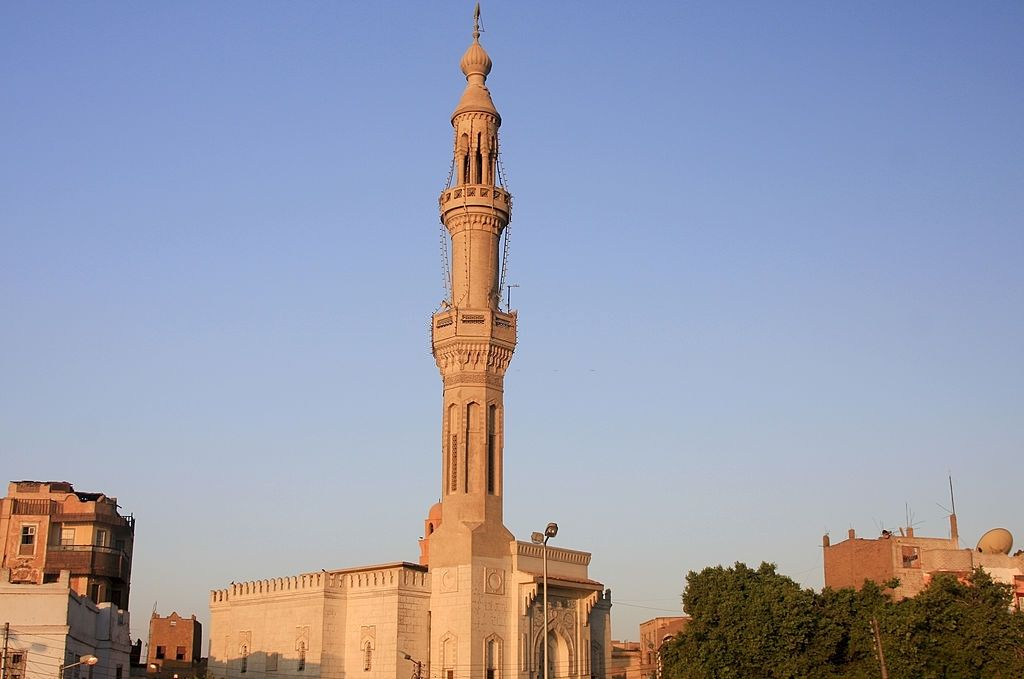 Nueva Mezquita en Esna, Egipto