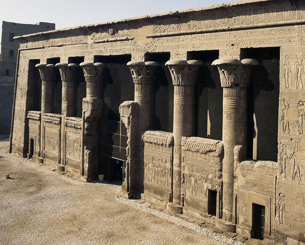 Templo de Esna en Egipto