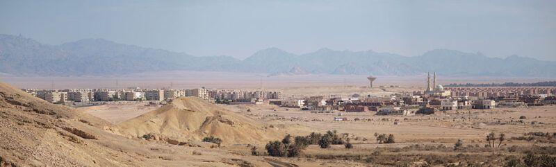 El Tor (Tur Sinaí) en Egipto